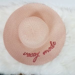 🎈David and Young Floppy Hat Pink with Sparkles OS 12cc60c3fca0